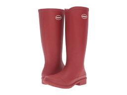 ハワイアナス ハワイアナス レディース ブーツ・レインブーツ シューズ Galochas Hi Matte Rain Boot Ruby Red
