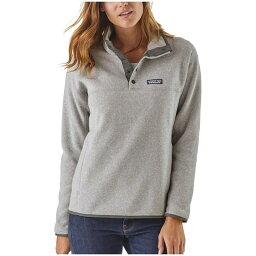 パタゴニア パタゴニア レディース パーカー・スウェット アウター Patagonia Lightweight Better Sweater? Marsupial Pullover Sweater - Women's Drifter Grey