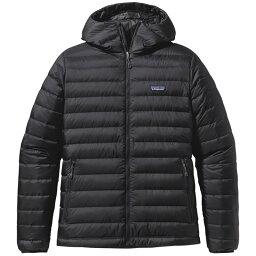パタゴニア パタゴニア メンズ ジャケット・ブルゾン アウター Patagonia Down Sweater Hoodie Black