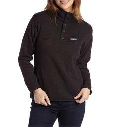 パタゴニア パタゴニア レディース パーカー・スウェット アウター Patagonia Lightweight Better SweaterR Marsupial Pullover Sweater - Women's Black