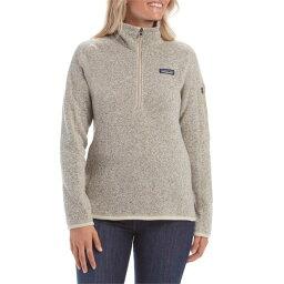 パタゴニア パタゴニア レディース パーカー・スウェット アウター Patagonia Better SweaterR 1/4 Zip Fleece - Women's Pelican