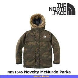ザ・ノース・フェイス ノースフェイス メンズ ダウンジャケット ノベルティ マクマードパーカ Novelty McMurdo Parka ND91646 カラー:WC THE NORTH FACE 【2016年秋冬新商品】