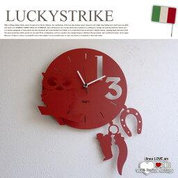 ARTI&MESTIERI 時計 LUCKYSTRIKE(ラッキーストライク) ウォールクロック 掛け時計 ラブ(LOVE) アルティ・エ・メスティエリ(ARTI&MESTIERI) 送料無料