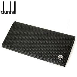 ダンヒル ディーエイト 財布(メンズ) 【dunhill】ダンヒル 長財布(小銭入れ付) ブラックMicro d-eight(マイクロ ディーエイト)ライン L2V312A【送料無料】