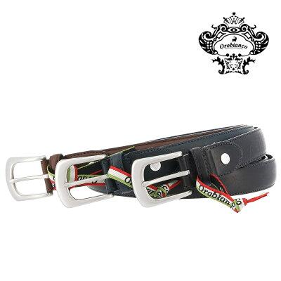 オロビアンコ ベルト メンズ 日本製 ORB-021018 | Orobianco 牛革 本革 レザー ブランド専用BOX付き[PO5][bef]
