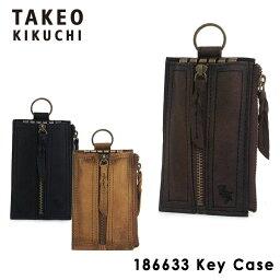 タケオキクチ タケオキクチ キーケース 186633 【 メンズ 】【 イニシャル 】【 TAKEO KIKUCHI キクチタケオ 】