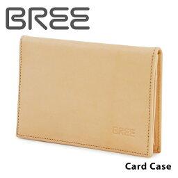 ブリー  ブリー BREE カードケース LUND125 nature ネイチャー 名刺入れ メンズ レディース ヌメ革 レザー ナチュラル [PO5][bef]