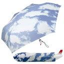 ジャンボ傘 【AIR OFESS】エアーオフェス 飛行機型 折り畳み傘 スカイ ジェット機アンブレラ