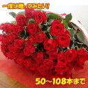60本の赤いバラ バラ50本花束4980円!100本バラ花束 還暦祝い60本のばらにも調整OKお祝・誕生日 歓送迎会 プレゼント 薔薇 ロングサイズ50cm プロポーズ