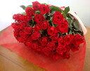 60本の赤いバラ 還暦お祝 60本のバラ 花束ギフト 送料無料