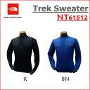 ザ・ノース・フェイス 【送料無料】THE NORTH FACE/ノースフェイス Trek Sweater(トレックセーター)/NT61512【メンズ】【ウールセーター】