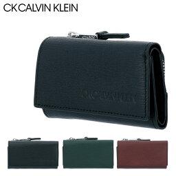 カルバンクライン キーケース(メンズ) シーケー カルバンクライン キーケース ロック メンズ 803632 CK CALVIN KLEIN|小銭入れ スコッチガード 牛革 本革 レザー 撥水 [PO5][bef]
