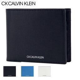カルバンクライン 二つ折り財布 メンズ CK カルバンクライン 二つ折り財布 ミニ財布 ニッチ メンズ877603 CK CALVIN KLEIN   本革 レザー [PO5][bef]