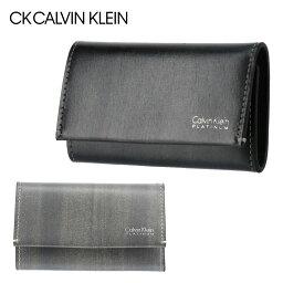 カルバンクライン キーケース(メンズ) シーケーカルバンクライン キーケース 札入れ 小銭入れ メンズ ボルダー 839613 CK CALVIN KLEIN 多機能 ICカードケース 定期入れ 本革 レザー [PO5][bef][即日発送]
