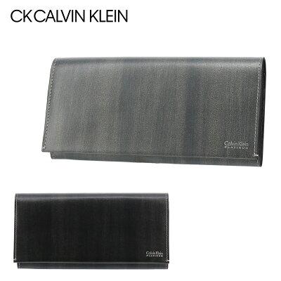 シーケーカルバンクライン 長財布 メンズ ボルダー 839616 CK CALVIN KLEIN 本革 レザー [PO5][bef][即日発送]