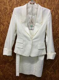 アンタイトル UNTITLED アンタイトル セットアップスーツ ホワイト系 表記サイズ:2 [wa][GJ]【ir】 【ladies】【apparel】【未使用】