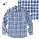 ノースフェイス ○ノースフェイス NR11810・ロングスリーブ マキシチェックシャツ(メンズ)【31%OFF】