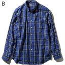ノースフェイス ○ノースフェイス NR11968・ロングスリーブ オコチロパッチシャツ(メンズ)【31%OFF】