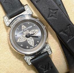 ルイヴィトン 腕時計(レディース) ルイヴィトン タンブール ビジュ Q151K ロングベルト【超美品】【送料無料】