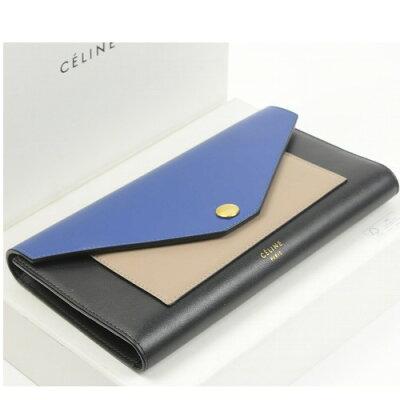 セリーヌ 財布 トリコロール 10585【美品】【送料無料】