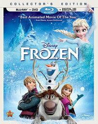 アナと雪の女王 DVD 北米版 ディズニー アナと雪の女王 Disney Frozen(Blu-ray+DVD) 2014 (2013) 英語版 ブルーレイディスク アナ エルサ クリストフ スヴェン オラフ
