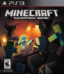 PS3 PS3 北米版 MINECRAFT PLAYSTATION 3 EDITION マインクラフト プレイステーション 3 エディション