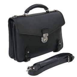 セカンドバッグ [ガザ・ディナリービジネスII] 本革製・手付きカブセ型ビジネスバッグ 4873 メンズ 中型 通勤 書類入れ 2way ショルダー 日本製 青木鞄 ギフト