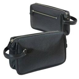 セカンドバッグ [ガザ・ディナリービジネスII] 本革製・メンズポーチ 4871