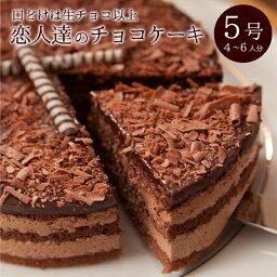 チョコレートケーキ バースデーケーキ 誕生日ケーキ チョコレートケーキ 恋人達のチョコレートケーキ 5号 15cm 4〜6人分 口溶けは生チョコ以上 父の日限定ラッピング