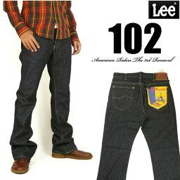 リー Lee リー メンズ ジーンズ 102 ブーツカット ワンウォッシュ Lee RIDERS AMERICAN RIDERS 日本製 LM5102-500