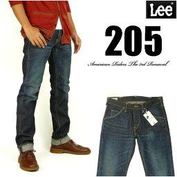 リー Lee リー メンズ ジーンズ 205 タイトストレート 濃色ユーズドブルー Lee RIDERS AMERICAN RIDERS 日本製 LM5205-526