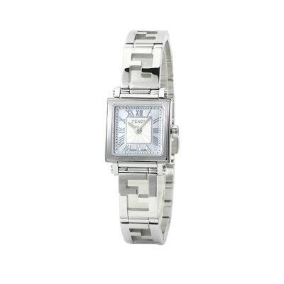 フェンディ FENDI クアドロ ミニ レディース F605024500 ホワイトシェル 時計/ウォッチ