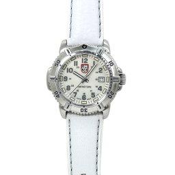 ルミノックス INT-127LUMINOX/ルミノックス 7257 ネイビーシールズ レディース ホワイトシェル/ホワイトレザー 時計/ウォッチ