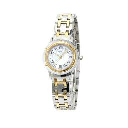 エルメス クリッパー 腕時計(レディース) INT-669エルメス クリッパー PM K18YG/SSコンビ レディース 【035320WW00:ホワイトシェル】【時計/ウォッチ】