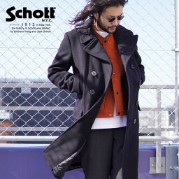 ショット Schott/ショット 公式通販 | Schott/ショット/LONG MELTON PEACOAT/ロング メルトン ピーコート/714US【送料無料】