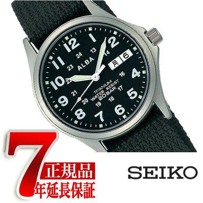 【SEIKO ALBA】セイコー アルバ チタン メンズ腕時計 APBT211