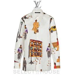 ルイヴィトン LOUIS VUITTON 【19A】ニューウォーカーズDNAシャツ【お取り寄せ】【SELECTHOUSE☆セレクトハウス】ルイ・ヴィトン メンズ