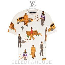 ルイヴィトン LOUIS VUITTON ニューウォーカーズプリンテッドTシャツ【19A】【お取り寄せ】【SELECTHOUSE☆セレクトハウス】ルイ・ヴィトン メンズ