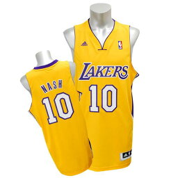 ウエア NBA レイカーズ スティーブ・ナッシュ ユニフォーム ホーム アディダス Revolution Swingman ユニフォーム【15セール】