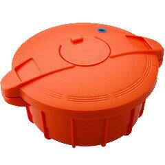 MEYER(マイヤー)電子レンジ圧力鍋 MPC-2.3PO パンプキンオレンジ