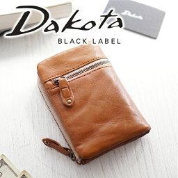 ダコタ 二つ折り財布(メンズ) 【実用的Wプレゼント付】 Dakota BLACK LABEL ダコタ ブラックレーベル 財布バルバロ 小銭入れ付き二つ折り財布 0624700( 0623000 )メンズ ダコタ 財布 二つ折り ギフト プレゼント ブランド