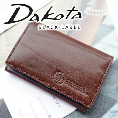【実用的Wプレゼント付】 Dakota BLACK LABEL ダコタ ブラックレーベル 名刺入れステファノ 名刺入れ 0625008メンズ 名刺入れ カードケース 小物 ギフト プレゼント ブランド