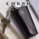 コルボ 【実用的Wプレゼント付】 CORBO. コルボ-face Bridle Leather-フェイス ブライドルレザー シリーズキーケース 1LD-0233スマートキー Smartkey メンズ 革 日本製 ギフト プレゼント ブランド