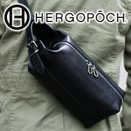 エルゴポック 【選べる実用的ノベルティ付】 HERGOPOCH エルゴポック Merge Series マージシリーズ バスクドレザークラッチショルダーバッグ(クラッチバッグ ボディバッグ) MG-SSRメンズ バッグ 日本製 ブランド