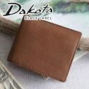 ダコタ 二つ折り財布(メンズ) 【実用的Wプレゼント付】 Dakota BLACK LABEL ダコタ ブラックレーベル 財布カルプ 小銭入れ付き二つ折り財布 0627300メンズ 二つ折り 日本製 ギフト プレゼント ブランド
