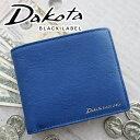 ダコタ 財布(メンズ) 【実用的Wプレゼント付】 Dakota BLACK LABEL ダコタ ブラックレーベル 財布レチェンテ 小銭入れ付き二つ折り財布 0627500メンズ 二つ折り ギフト プレゼント ブランド