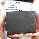 【選べるかわいいノベルティ付】 CLEDRAN クレドラン 財布ANNE(アネ) 小銭入れ付き二つ折り財布 CR-CL3143レディース 二つ折り 日本製 ギフト かわいい おしゃれ プレゼント ブランド