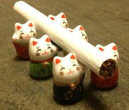 招き猫の置物 風水まめ福招き猫プチ置物  新築 開店 祝い 贈り物 開運 縁起物