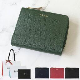 ポールスミス 二つ折り財布(メンズ) ポールスミス 財布 二つ折り財布 ポールドローイング 小銭入れあり Paul Smith メンズ レディース ブランド 正規品 新品 ギフト プレゼント PSC954 ホワイトデー
