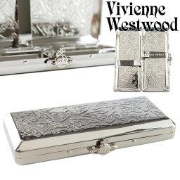 ヴィヴィアンウエストウッド シガレットケース Vivienne Westwood ヴィヴィアンウエストウッド シガレットケース たばこケース 喫煙具 メンズ レディース メタルスリムORB 1518903